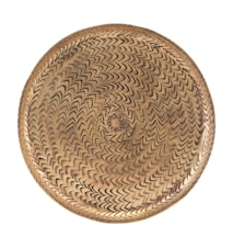 Bakke Rattan Brass 20 cm