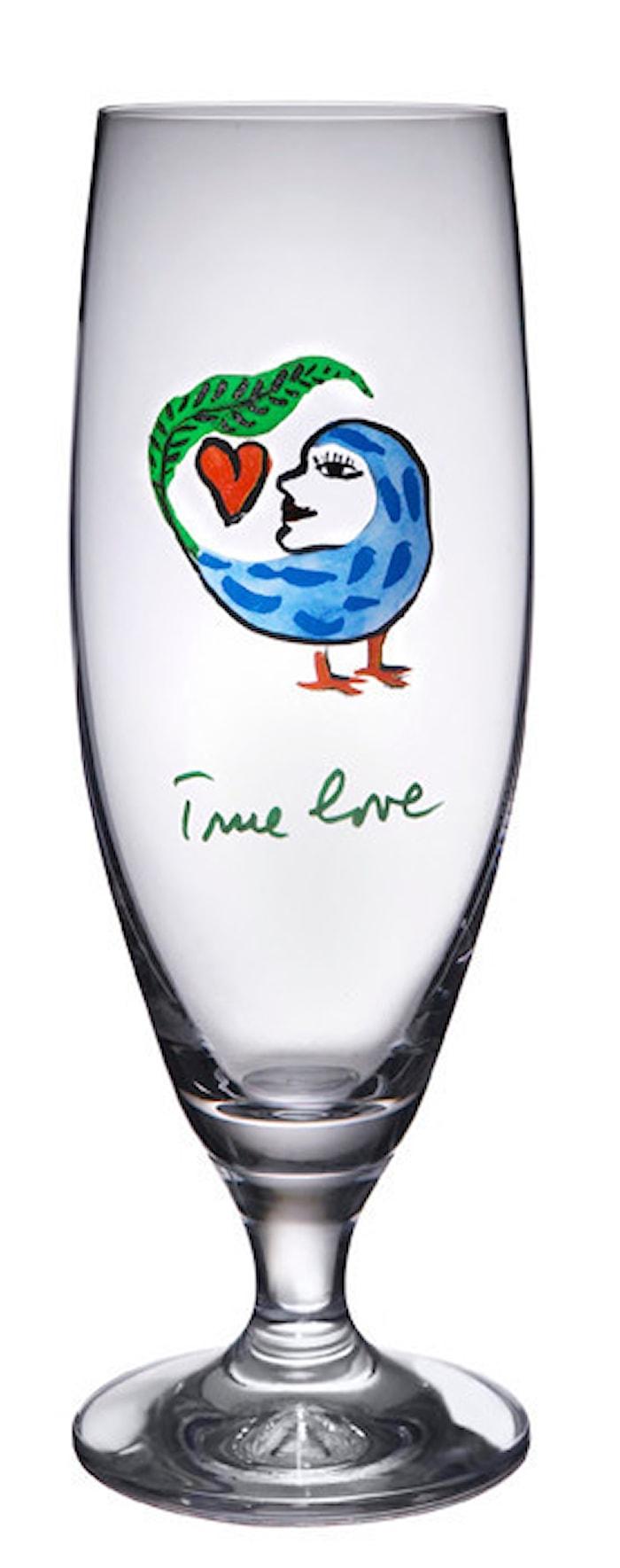 Friendship True Love Ölglas 50 cl