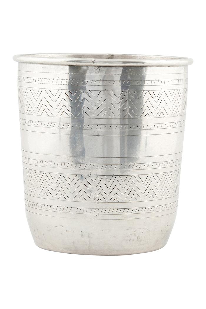 Blomkruka Ethnic 20cm Silver