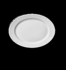 Grand Cru Ovaali lautanen 17,5x23,5 cm valkoinen