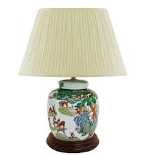 Lampfot 17,5cm Qianlong Hundra hjortar