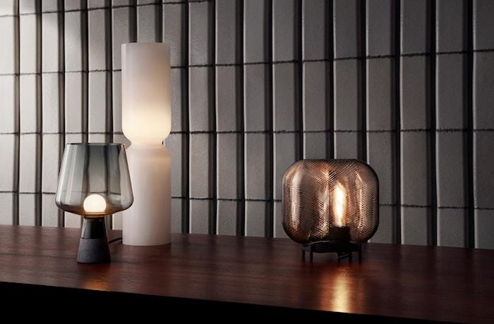 Virva lampe 250x255 mm lys brun