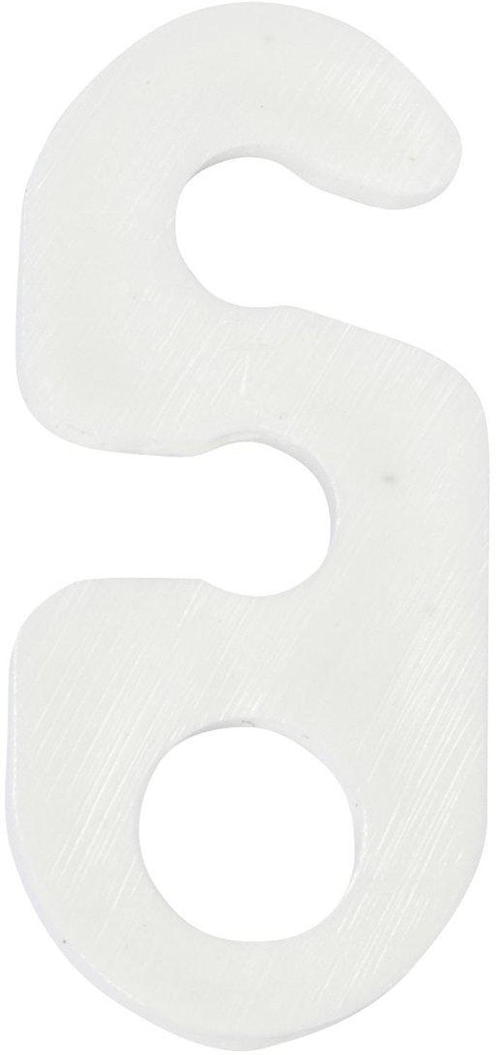 Upphängsbygel Vit 3cm