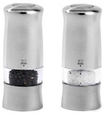 Zeli DUO Elektrisk Salt & Pepperkvern Kromet 14 cm