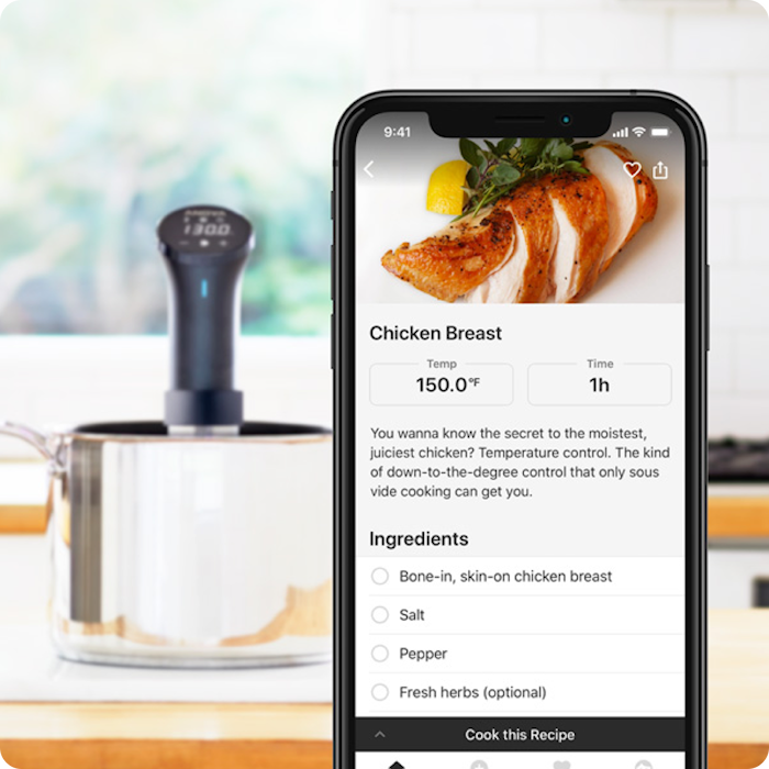 Sous Vide Precision cooker WIFI 2.0
