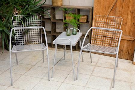 Tuuli Cafébord rektangulärt Betonggrå