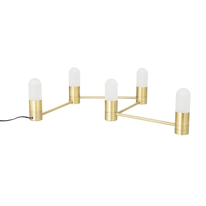 Bordlampe 5 Lamper Gull / Metall