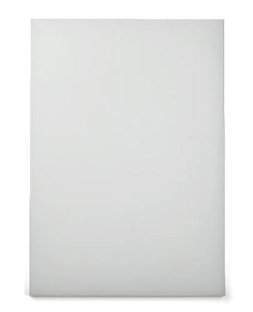 Skærebræt 49,5x 35cm, hvid
