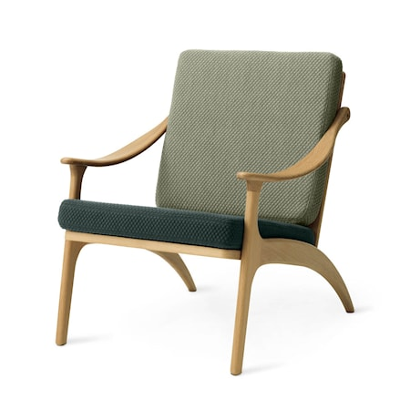 Lean Back Lounge Chair Petrol shade/Light sage Ek