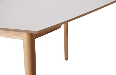 Perstorp rektangulær bordskive – Svart, 150x95