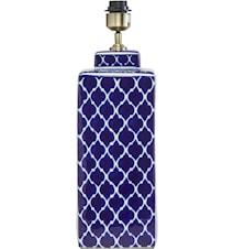 Li Wei Lampefot Koboltblå 51cm