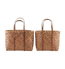 Korgar/Väskor Beach Brun Set