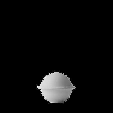 Chapeau Bonbonkrukke Porcelæn Lysegrå Ø12,5 cm