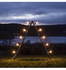 Bright Ljusstake Outdoor Klar 125cm