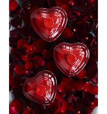 Ramekiini sydän kannellienn 0,25 l Cerise