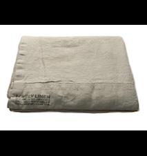 Lovely linen påslakan – Light grey, 135x200