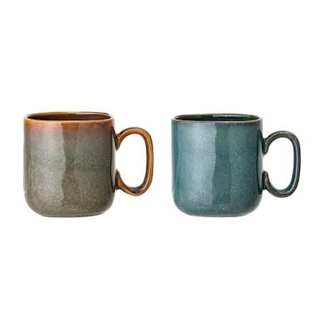 Aime Mug Multi-color Stoneware