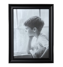 Picture Frame Glass / Black 18 x 24 cm