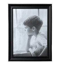 Taulunkehys Lasi/Musta 24x18 cm
