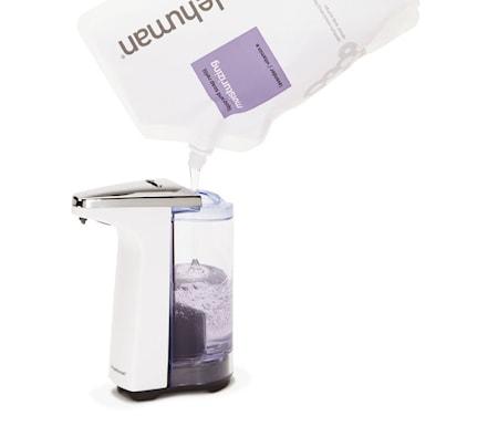 Tvål- och diskmedelspump med Sensor Kompakt 237ml Vit