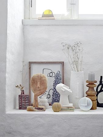Deco Vas Vit Terracotta