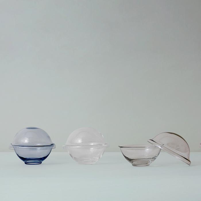 Chapeau Godteriskål Munnblåst Glass Copenhagen Green Ø16 cm
