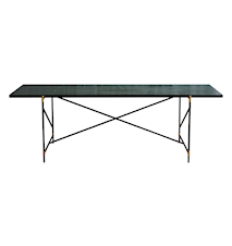 Dining table 230 cm mässing - Grön