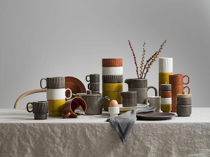 Coffee & More Lattekrus Terrakotta