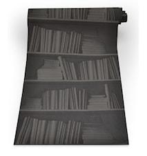 Bookshelf black tapet