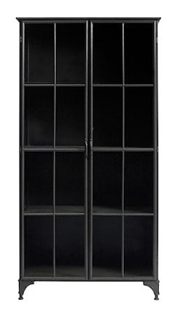 Downtown iron cabinet - Svart