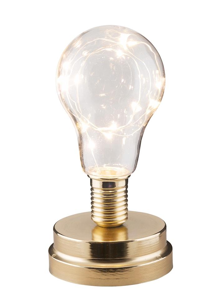 Lykta LED-slinga Mässing 18 cm