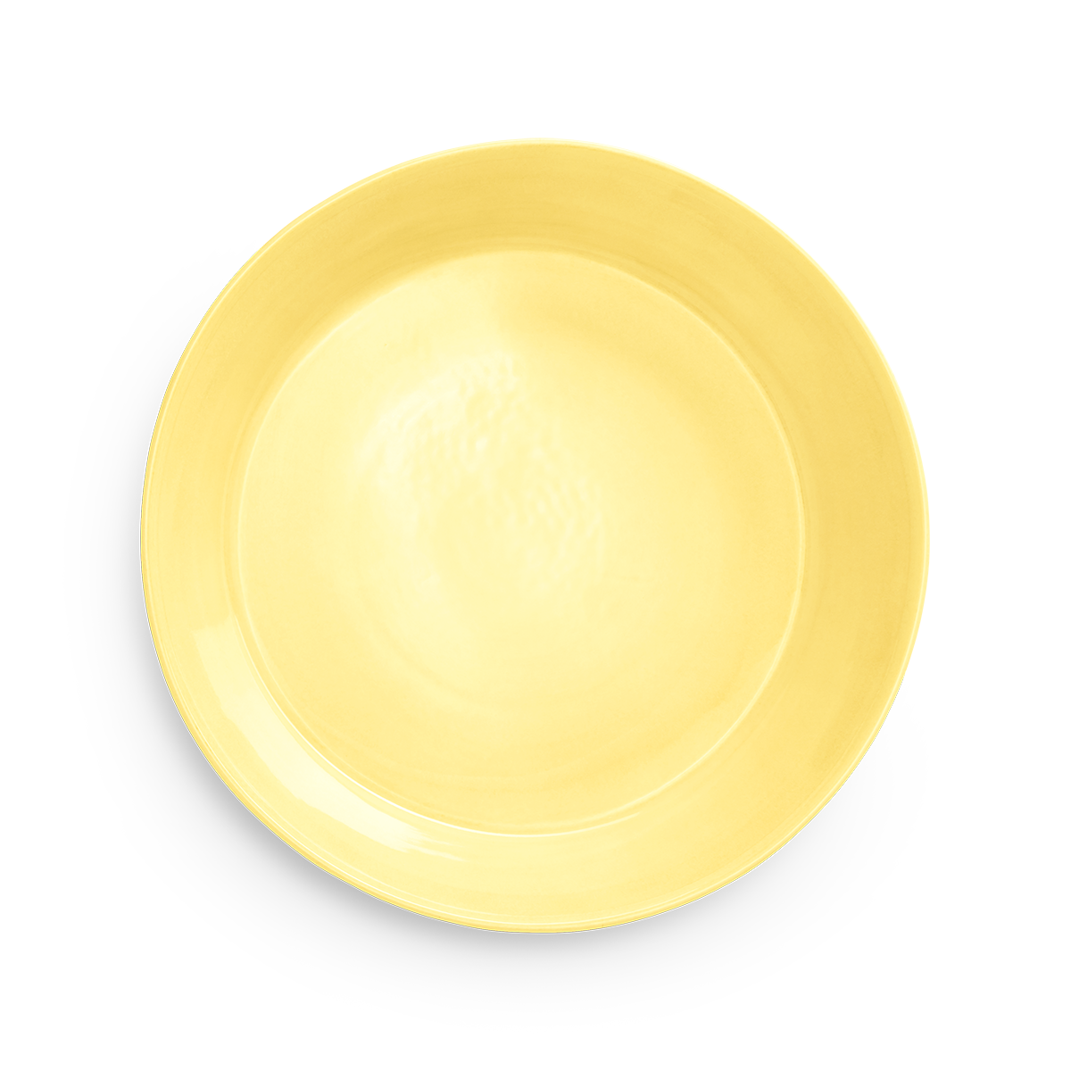 Basic Fat-Skål Gul 36 cm