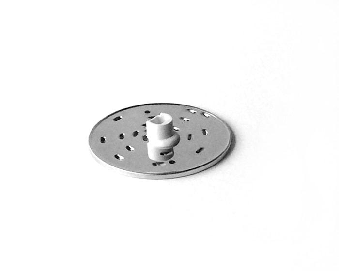 Rivjärn stål medium 4 mm