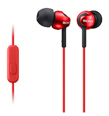 Övriga Headset MDR-EX110AP Röd