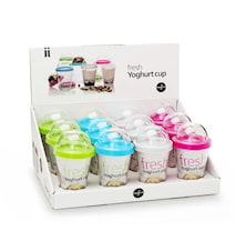Fresh yoghurtbeger display, 12-pakning