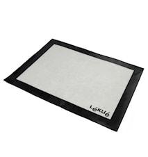 Tapis de cuisson professionnel fibre de verre blanc 60 x 40 cm grand