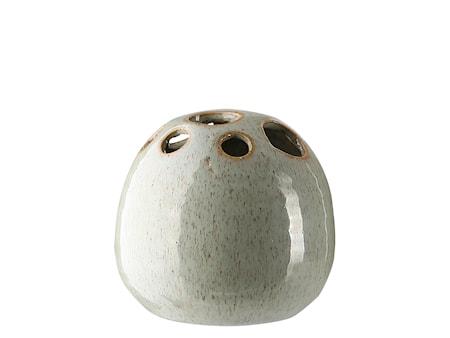 Fnug Vas H: 10.5 cm Grön