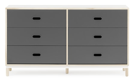 Kabino 6 drawers byrå