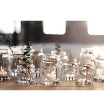 Värmeljuslykta Glas Ø6,5cm