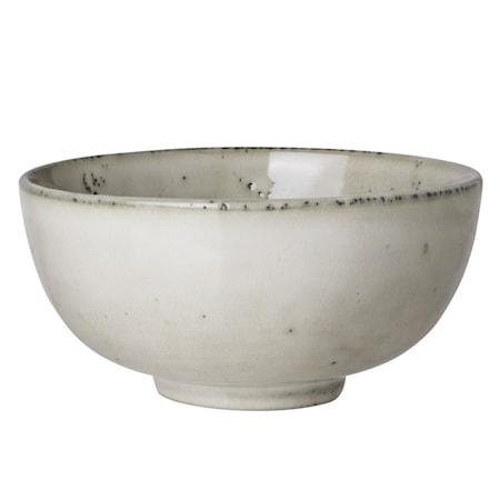 Rustic skål 12,5cm Beige
