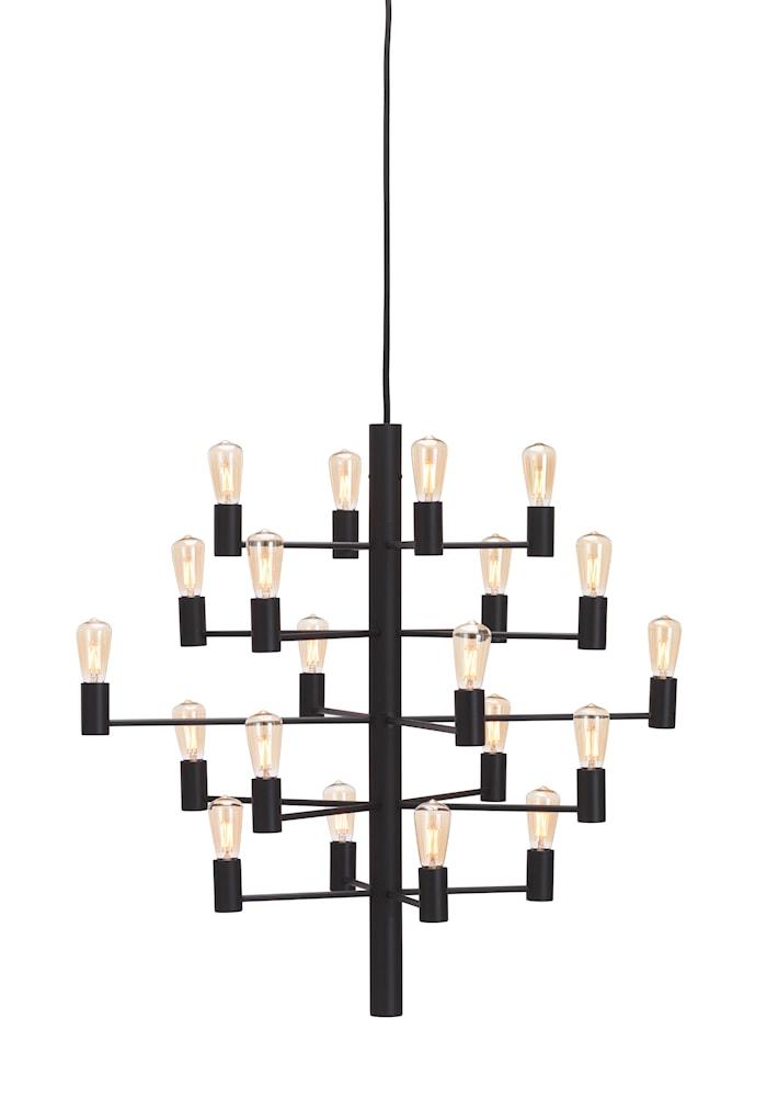 Manola 20 Kronor Svart E14 Dimbar LED