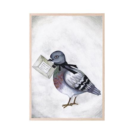 Poster Love Dove Letter 21x30cm