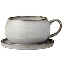 Teekuppi vadilla Amera Harmaa
