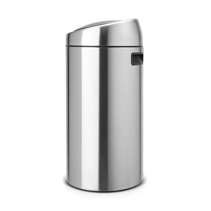 Touch Bin, plastinderspand 45 L Matbørstet Stål /F.P.P.