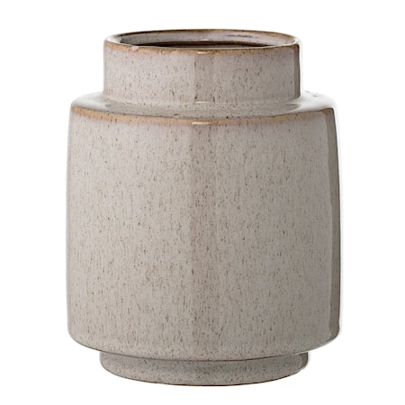 Vase Natur Stentøj 12x15 cm