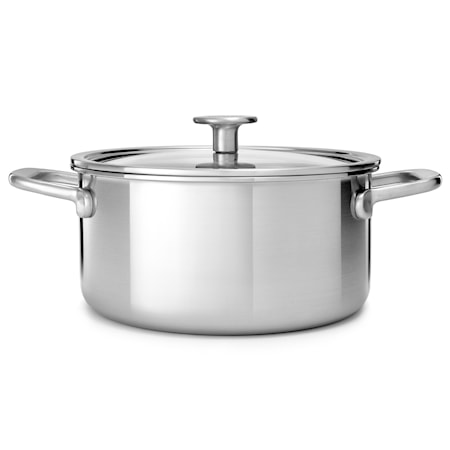 Multi-Ply Stainless Steel Gryte 24 cm / 4,91L Uncoated
