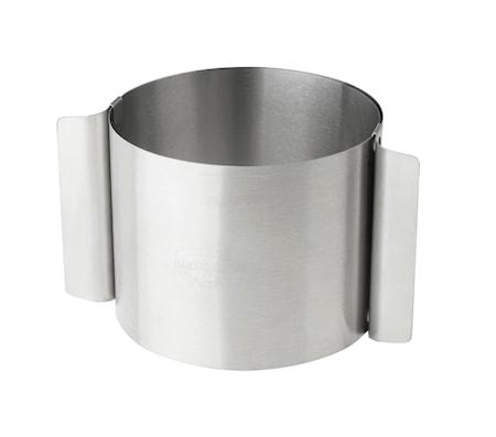 Kitchen Tools Tårtring Rostfritt Stål 10-18 cm