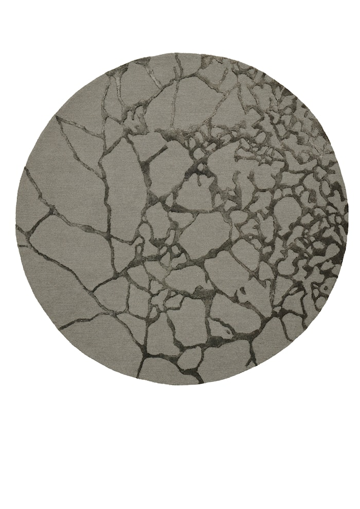 Marmor Tæppe Grøn Ø170 cm