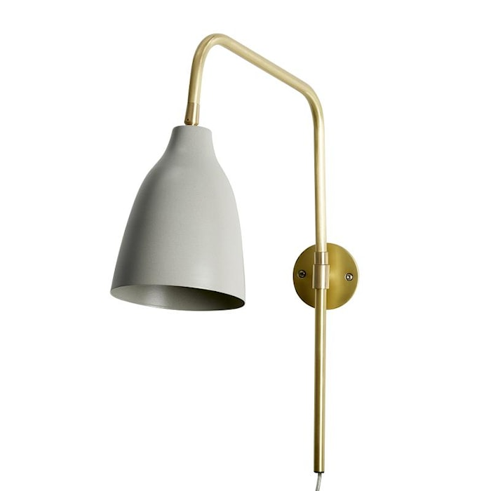 Vegglampe Evie Beige