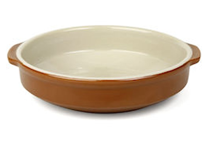 Form Ø 14 cm brun/beige
